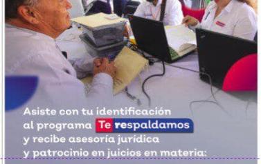 En rueda de prensa en Zapotlán El Grande, Jalisco, anunciando el programa institucional de la Procuraduría Social #TeRespaldamos