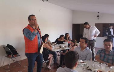 Zona Norte en la Séptima reunión regional  con sede en Colotlán