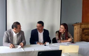 Visita del Mtro. Gerardo Ignacio de la Cruz Tovar, Fiscal Especializado en el Combate a la Corrupción del Estado de Jalisco  a la Procuraduría Social
