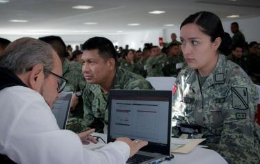 El programa #TeRespaldamos llegó a la XV Zona Militar