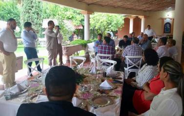 Quinta reunión regional en Altos Norte