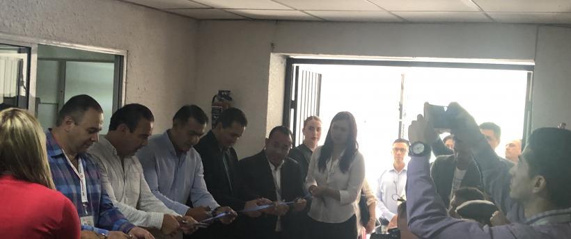 Reubicación de las nuevas oficinas de la Procuraduría Social en Tlajomulco de Zúñiga.